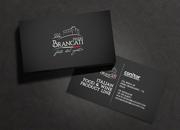 Feudo Brancati business card