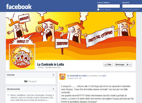 Le Contrade cover facebook