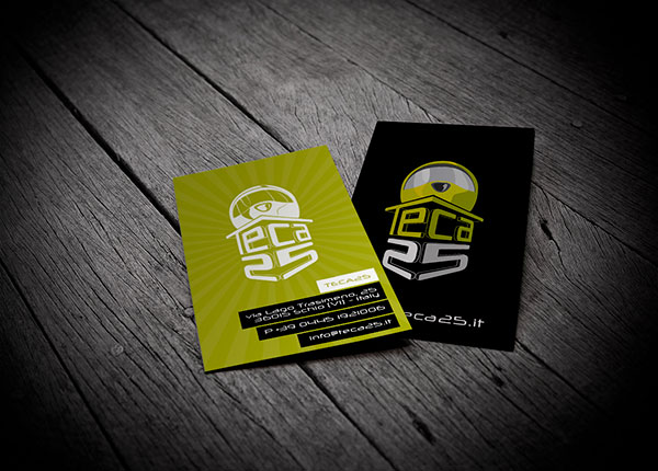 Teca 25 business card